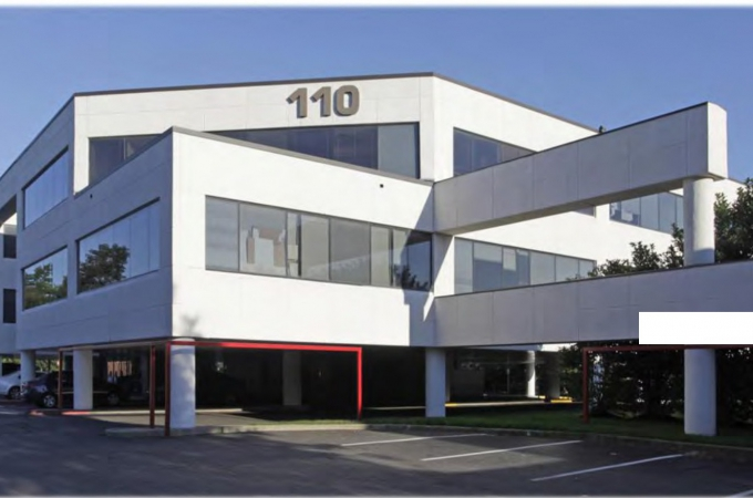 TGI Friday Restaurant and Route 110 Office Building