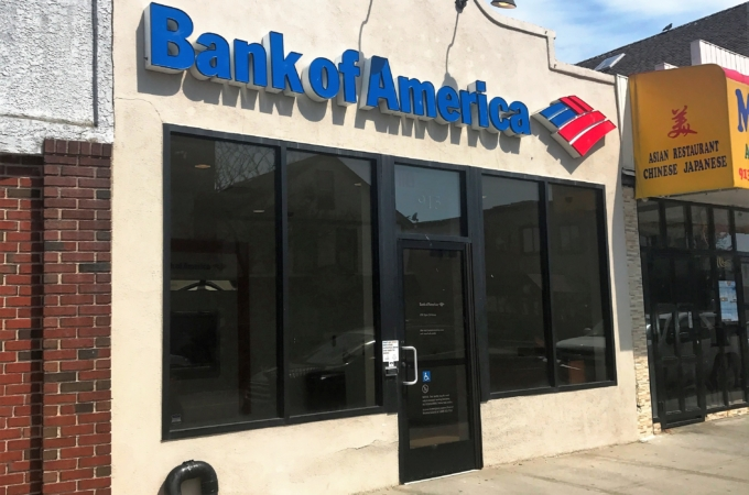 Double net lease Bank of America